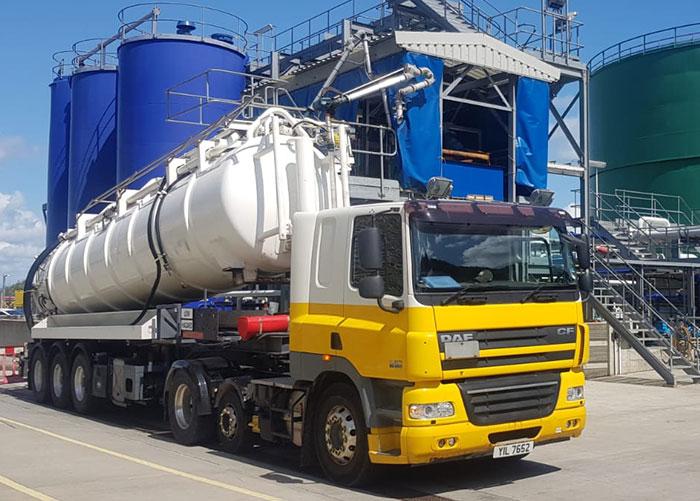ADR vac tankers