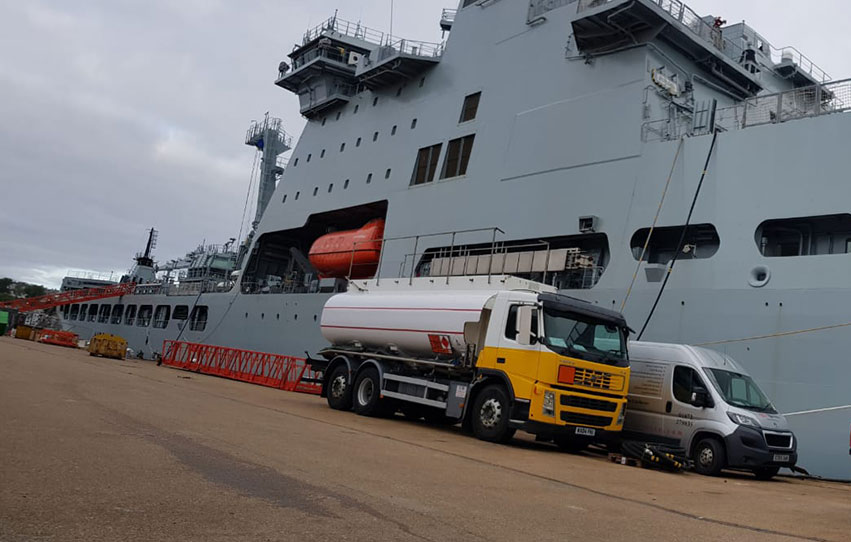 Marine fuel Uplifts