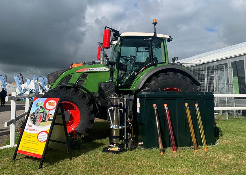 fuel polishing tractor