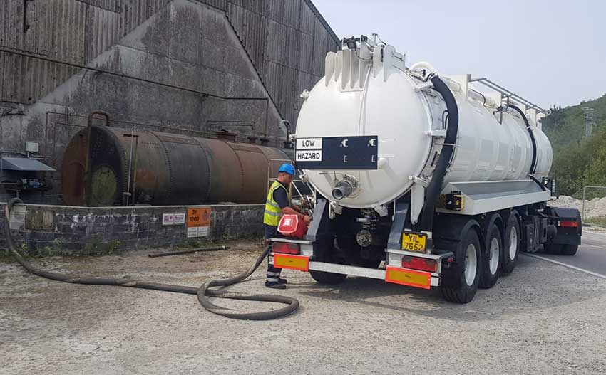 waste disposal liquid 850