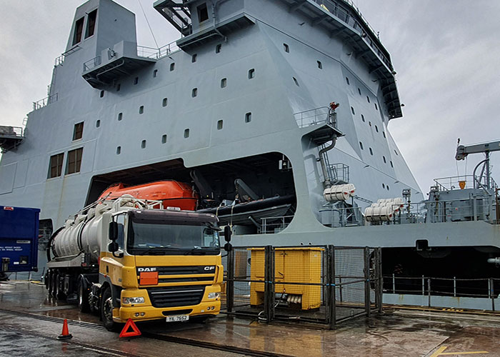 bulk fuel haulage